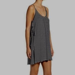 O'Neill Black and White striped dress